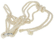 Sisal Halter with Ring