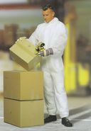 Chemical Protection Coverall CoverBase